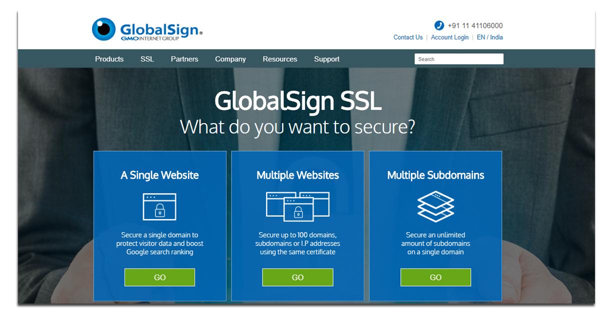 globalsign- SSL Certificate