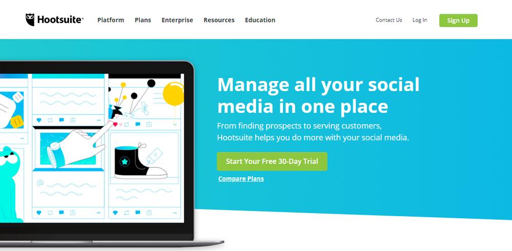 Social Media-Hootsuite