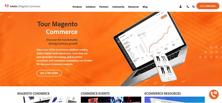 ecommerce website - Magento