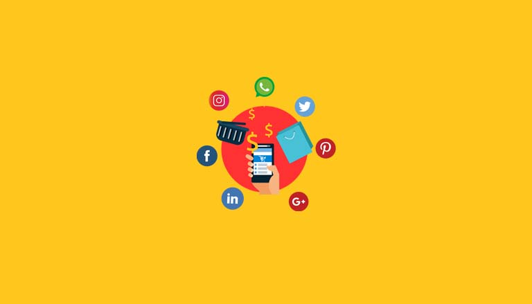 Social media cover page